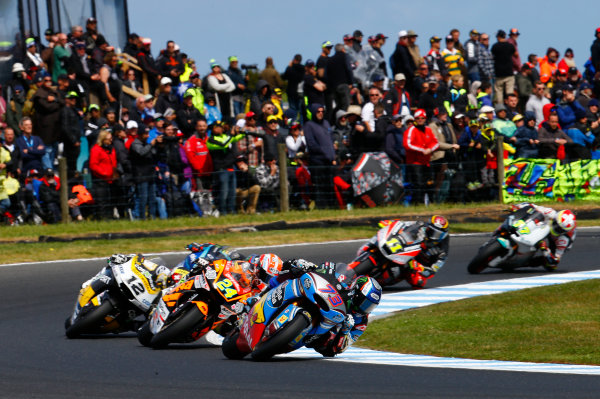 2017 Moto2 Championship - Round 16 Phillip Island, Australia. Sunday 22 October 2017 Alex Marquez, Marc VDS World Copyright: Gold and Goose / LAT Images ref: Digital Image 24765