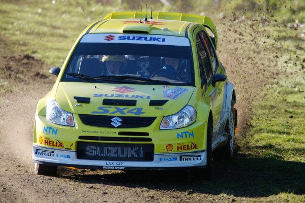 Rally New Zealand, 28th - 31st  August   2008World Copyright: McKlein/LATToni Gardemiester, Suzuki, portrait