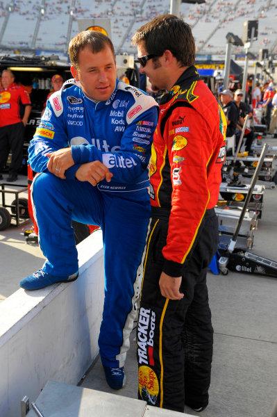 Ryan Newman, Martin Truex Jr  NASCAR Photos