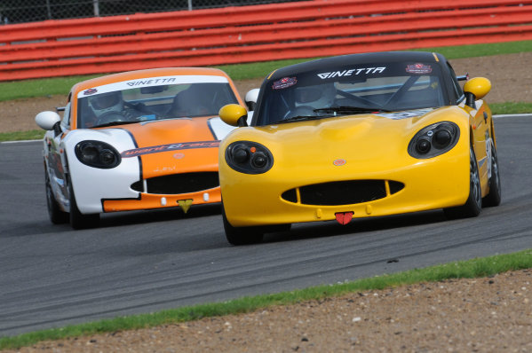 2017 Ginetta GT5 Challenge and GRDC+, Silverstone, 11th-12th June 2017, Rob Keogh Ginetta G40. World copyright. JEP/LAT Images
