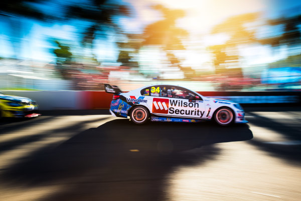 2017 Supercars Championship Round 7.  Townsville 400, Reid Park, Townsville, Queensland, Australia. Friday 7th July to Sunday 9th July 2017. James Moffat drives the #34 Wilson Security Racing GRM Holden Commodore VF. World Copyright: Daniel Kalisz/ LAT Images Ref: Digital Image 070717_VASCR7_DKIMG_2070.jpg