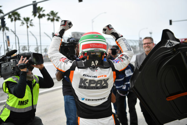 2017 Pirelli World Challenge Toyota Grand Prix of Long Beach Streets of Long Beach, CA USA Sunday 9 April 2017 Alvaro Parente World Copyright: Richard Dole/LAT Images ref: Digital Image RD_LB17_502