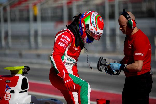Circuit de Barcelona Catalunya, Barcelona, Spain. Monday 13 March 2017. Antonio Fuoco (ITA, PREMA Racing).  Photo: Alastair Staley/FIA Formula 2 ref: Digital Image 580A9709