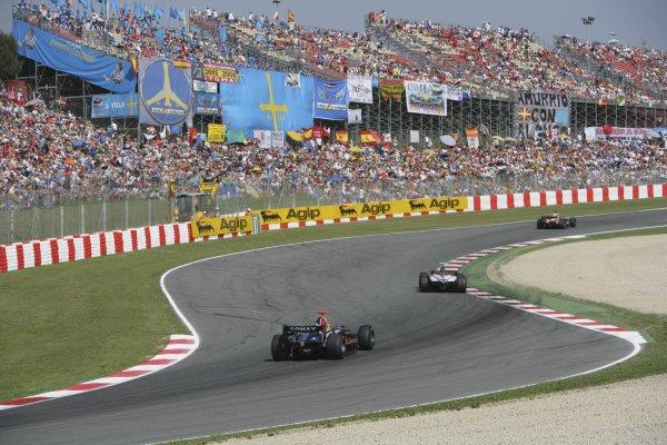 2007 GP2 Series. Round 2. Sunday RaceBarcelona, Spain. 13th May 2007. Bruno Senna (BRA, Arden International). Action. World Copyright: Andrew Ferraro/GP2 Series Media Sevice  ref: Digital Image ZP9O7115