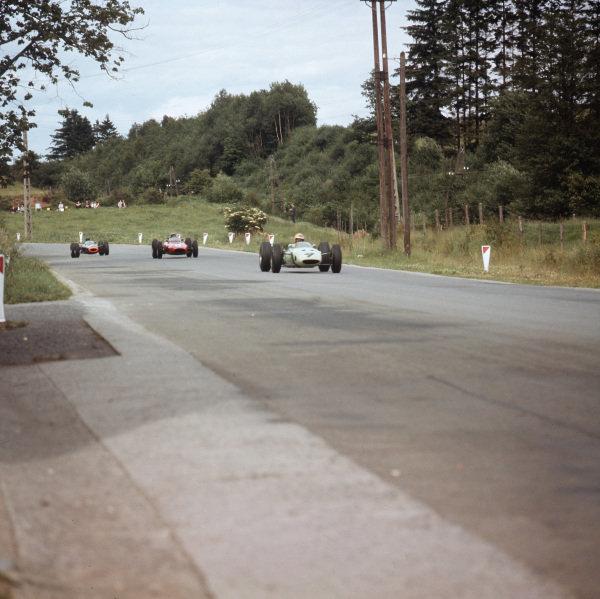 Spa-Francorchamps, Belgium.12-14 June 1964.Trevor Taylor (BRP 2 BRM) 7th position.Ref-3/1262.World Copyright - LAT Photographic