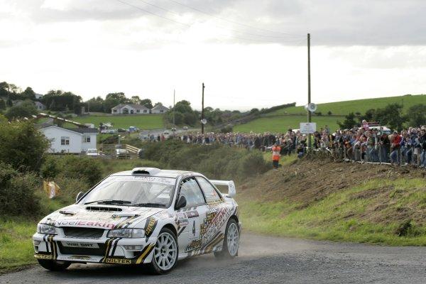2006 British Rally ChampionshipUlster Rally, Armagh.2nd September 2006Peadar HursonWorld Copyright - Ebrey/LAT Photographic