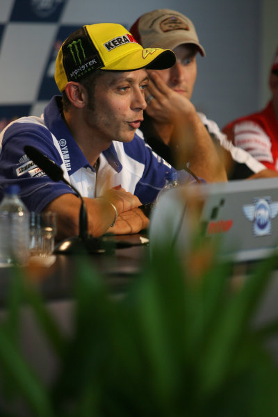 Indianapolis Grand Prix, Indianapolis, USA.28th - 30th August 2009.Valentino Rossi Fiat Yamaha Team.World Copyright: Martin Heath/LAT Photographic ref: Digital Image SE5K4238