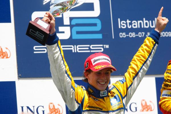 Sunday Race. 7th June 2009. Javier Villa (ESP, Super Nova Racing). World Copyright: Charles Coates/ GP2 Series Media Service.Ref: _26Y5673 jpg
