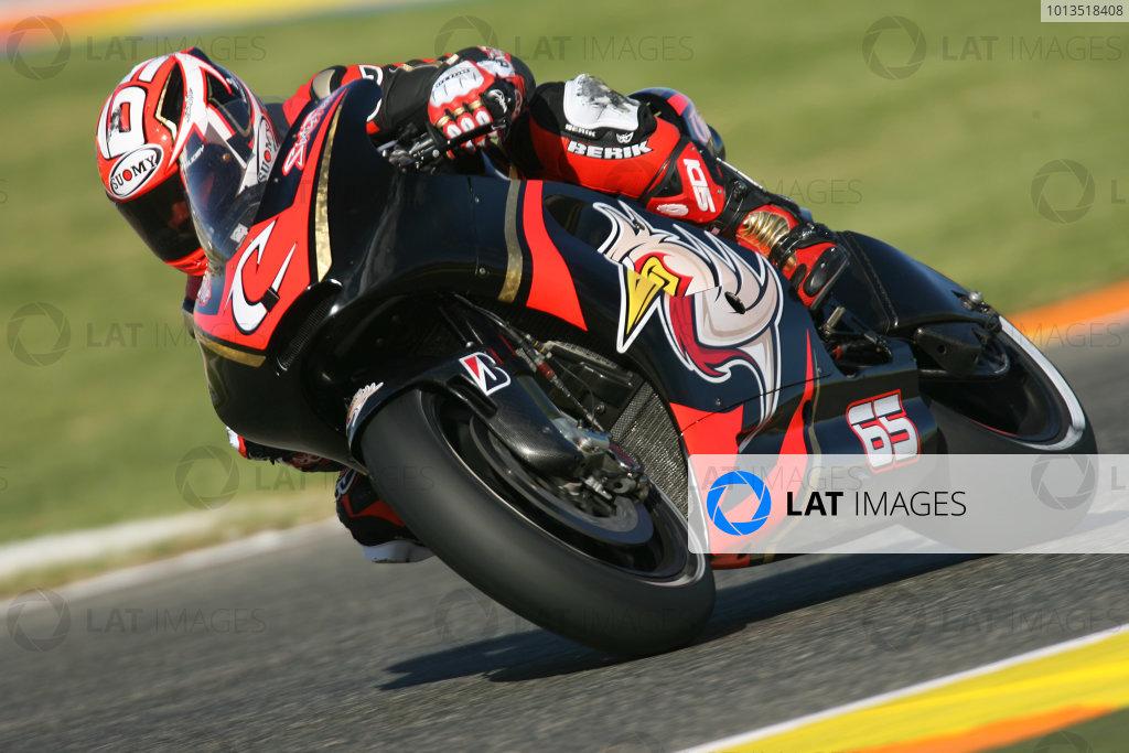 Valencia Test Nov 09-10Loris Capirossi Pramac Ducati