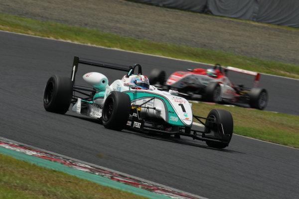 2010 Japanese Formula Three ChampionshipOkayama, Japan. 4th September 2010.2010 Champion Yuji Kunimoto ( #1 PETRONAS TEAM TOM'S ) action.World Copyright: Yasushi Ishihara/LAT Photographicref: 2010JF3_R12_009
