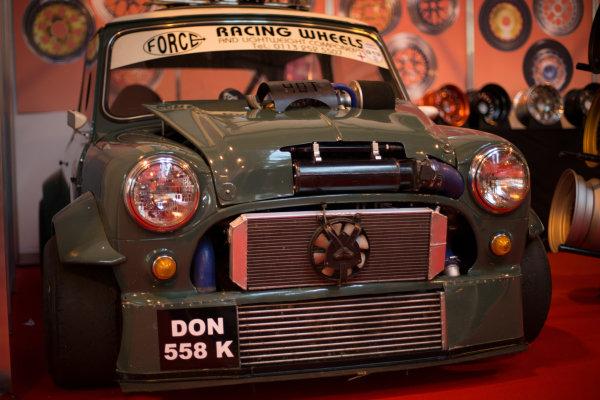 Modified Mini. Autosport International Show, NEC, Birmingham, England, Day One, 9 January 2014.