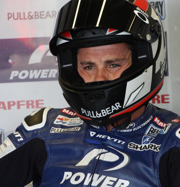 British Grand Prix.  Silverstone, England. 30th August - 1st September 2013.  Randy De Puniet, Aspar ART.  Ref: IMG_0263a. World copyright: Kevin Wood/LAT Photographic
