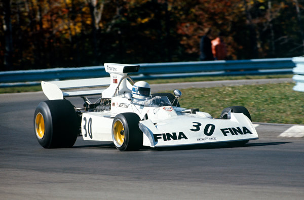 1973 United States Grand Prix.  Watkins Glen, New York, USA. 5-7th October 1973.  Jochen Mass, Surtees TS14A Ford.  Ref: 73USA19. World Copyright: LAT Photographic