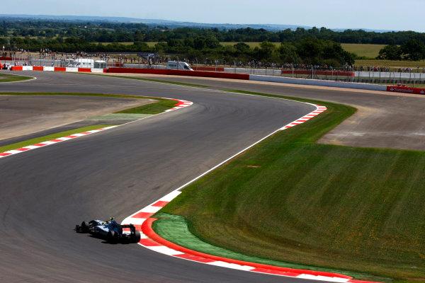Silverstone, Northamptonshire, England9th July 2010Nico Rosberg, Mercedes GP W01. Action. World Copyright: Charles Coates/LAT Photographicref: Digital Image _26Y1555