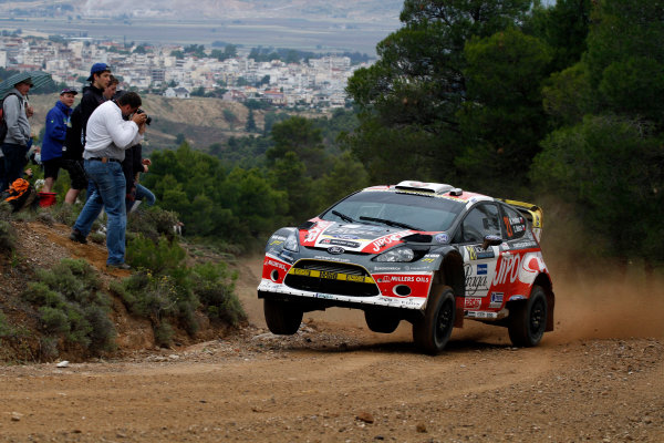 Round 06 - Rally Acropolis Greece. 24-27 May 2012. Martin Prokop, Ford WRC, Action. Worldwide Copyright: McKlein/LAT
