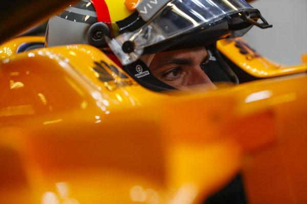 Carlos Sainz Jr, McLaren.