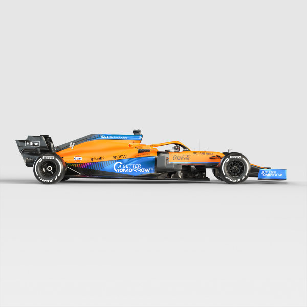 2021 MCL35M side profile