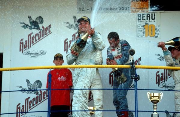 Marcel Tiemann (GER) was delighted to take a race win