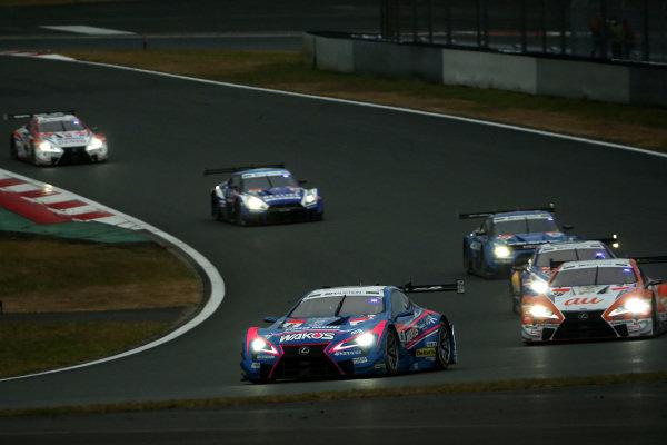 Kazuya Oshima, Lexus Team LeMans Wako's Lexus LC500.