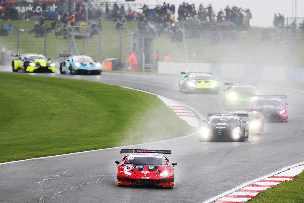 Race Start - Michael Igoe / Phil Keen - WPI Motorsport Lamborghini Huracan GT3 Evo leads