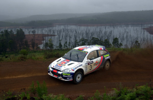 2001 World Rally ChampionshipTelstra Rally Australia, Perth, WA. 1-4 November 2001.Carlos Sainz on stage 15.Photo: Ralph Hardwick/LAT