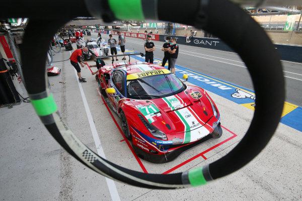 #71 AF Corse Ferrari 488 GTE EVO: Davide Rigon / Miguel Molina / Sam Bird