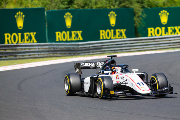HUNGARORING, HUNGARY - AUGUST 03: Callum Ilott (GBR, SAUBER JUNIOR TEAM BY CHAROUZ) during the Hungaroring at Hungaroring on August 03, 2019 in Hungaroring, Hungary. (Photo by Joe Portlock / LAT Images / FIA F2 Championship)