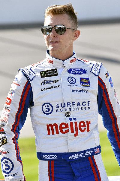 #36: Matt Tifft, Front Row Motorsports, Ford Mustang Meijer