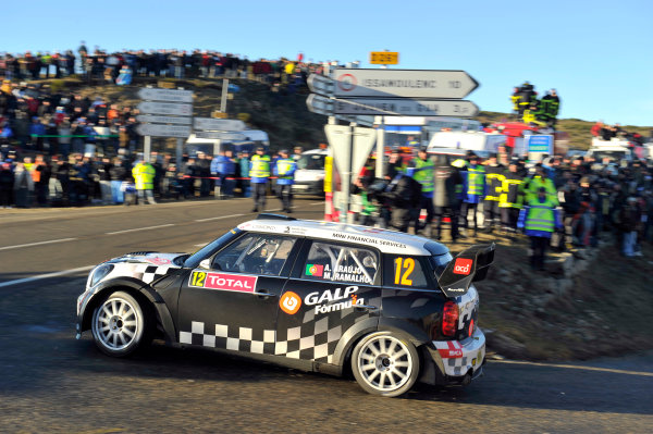 Round 01-Rally Monte Carlo 17-22 January 2012. Armindo Araujo, Mini WRC, ActionWorldwide Copyright: McKlein/LAT