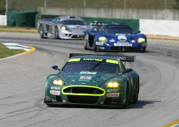 September 28 - October 1, 2005, Winder, GA  USAAston Martin 57 finishes 2nd in GT1 class.Copyright 2005, Richard Dole, USA LAT Photographic