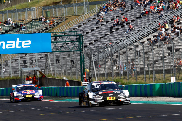 2017 DTM Round 3 Hungaroring, Budapest, Hungary. Sunday 18 June 2017. René Rast, Audi Sport Team Rosberg, Audi RS 5 DTM World Copyright: Alexander Trienitz/LAT Images ref: Digital Image 2017-DTM-R3-HUN-AT1-2572