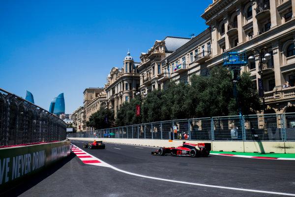 2017 FIA Formula 2 Round 4. Baku City Circuit, Baku, Azerbaijan. Friday 23 June 2017. Nobuharu Matsushita (JPN, ART Grand Prix)  Photo: Zak Mauger/FIA Formula 2. ref: Digital Image _54I9587