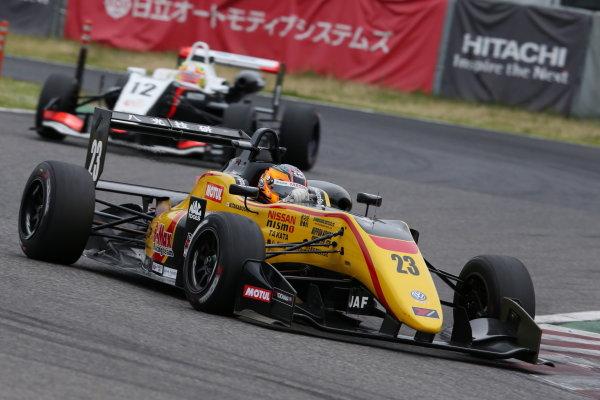 2017 Japanese Formula 3 Championship. Suzuka, Japan. 24th - 25th June 2017. Rd 10 & 11. Rd10 3rd position Mitsunori Takaboshi ( #23 B-MAX NDDP F3 ) action World Copyright: Masahide Kamio / LAT Images. Ref: 2017JF3_Rd10_06
