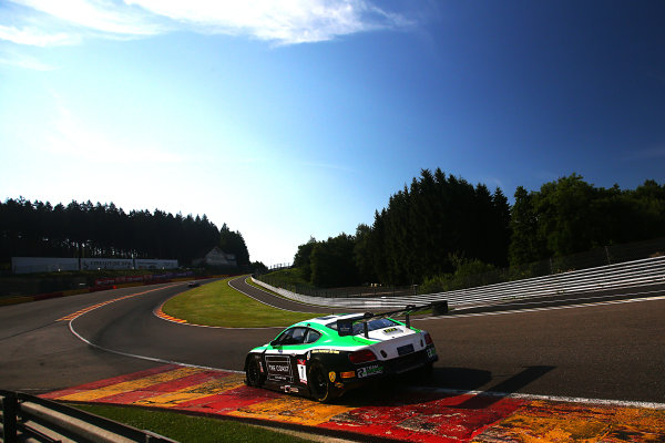 2017 British GT Championship, Spa-Francorchamps, Belgium. 7th - 8th July 2017. Ian Loggie / Callum MacLeod Team Parker Racing Bentley Continental GT3. World Copyright: JEP/LAT Images.