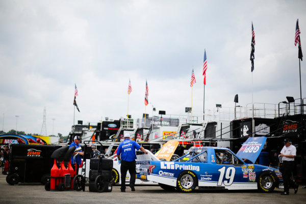 NASCAR Camping World Truck Series Buckle Up In Your Truck 225 Kentucky Speedway, Sparta, KY USA Wednesday 5 July 2017 Austin Cindric, LTi Printing Ford F150 crew World Copyright: Barry Cantrell LAT Images