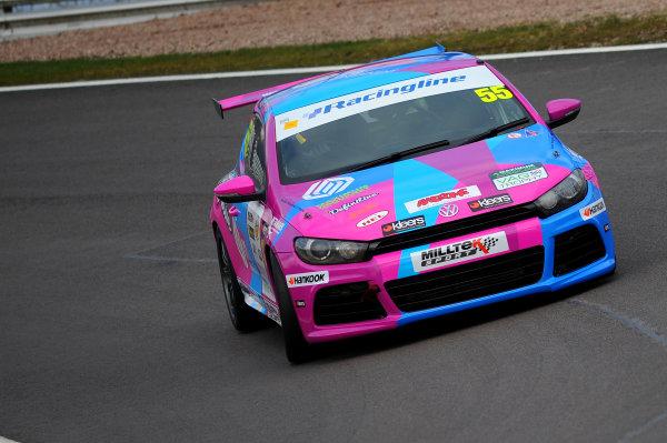 2015 Volkswagen Racing Cup, Oulton Park, Cheshire. 4th - 6th April 2015. Simon Deaton (GBR) Maximum Motorsport Scirocco R. World Copyright: Ebrey / LAT Photographic.