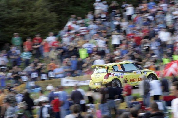 FIA World Rally Championship 2007Round 10Rally Deutschland, Germany.Trier, Germany.16th - 19th August 2007Urmo aava, Suzuki, action.Worldwide Copyright: McKlein/LAT