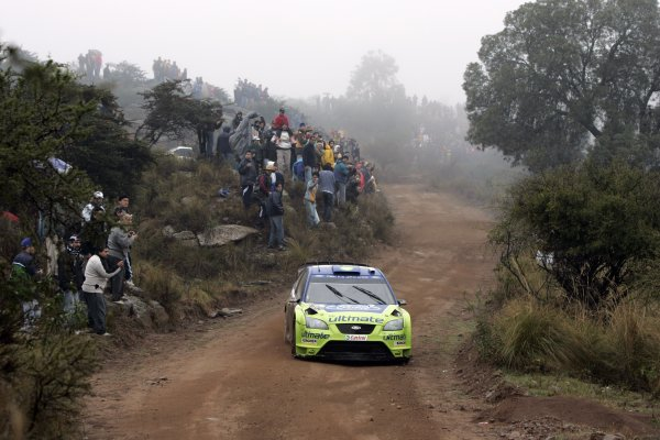2007 FIA World Rally Champs. Round 6Rally Argentina, 3 May - 6 May Markus Gronholm, Ford, actionWorld Copyright: McKlein/LAT