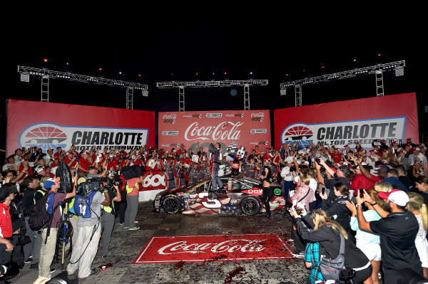 Monster Energy NASCAR Cup Series Coca-Cola 600 Charlotte Motor Speedway, Concord, NC USA Monday 29 May 2017 Austin Dillon, Richard Childress Racing, Dow Salutes Veterans Chevrolet SS World Copyright: Rusty Jarrett LAT Images ref: Digital Image 17CLT2rj_10465