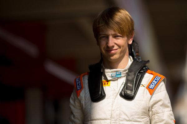 Circuit de Barcelona Catalunya, Barcelona, Spain. Wednesday 15 March 2017. Johnny Cecotto (VEN, Rapax). Photo: Alastair Staley/FIA Formula 2 ref: Digital Image 585A9845