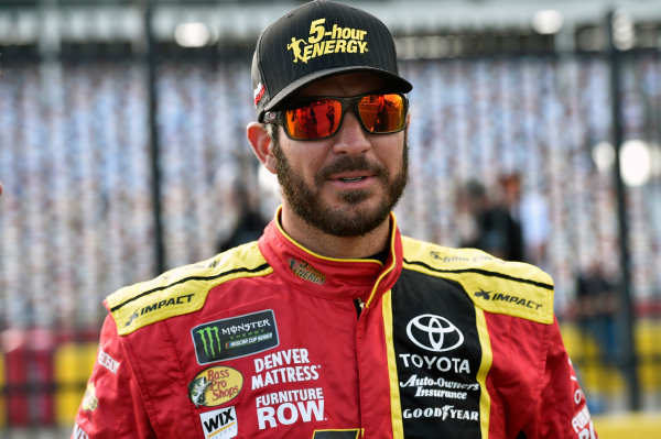 Monster Energy NASCAR Cup Series Monster Energy NASCAR All-Star Race Charlotte Motor Speedway, Concord, NC USA Friday 19 May 2017 Martin Truex Jr, Furniture Row Racing, 5-hour Energy Extra Strength Toyota Camry World Copyright: Nigel Kinrade LAT Images ref: Digital Image 17CLT1nk03055