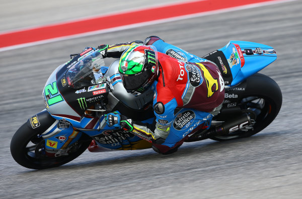 2017 Moto2 Championship - Round 3 Circuit of the Americas, Austin, Texas, USA Friday 21 April 2017 Franco Morbidelli, Marc VDS World Copyright: Gold and Goose Photography/LAT Images ref: Digital Image Moto2-500-2147