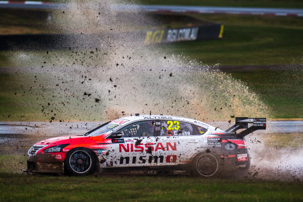 2017 Supercars Championship Round 5.  Winton SuperSprint, Winton Raceway, Victoria, Australia. Friday May 19th to Sunday May 21st 2017. Michael Caruso drives the #23 Nissan Motorsport Nissan Altima. World Copyright: Daniel Kalisz/LAT Images Ref: Digital Image 190517_VASCR5_DKIMG_3313.JPG