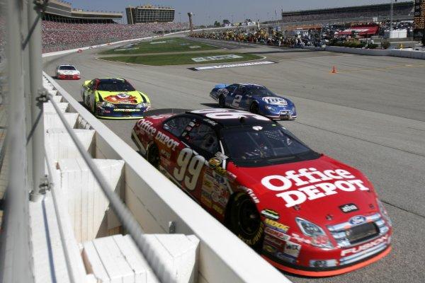 16-18 March 2007, Atlanta Motor Speedway, Atlanta, GACarl Edwards©2007, Lesley Ann Miller, USALAT Photographic