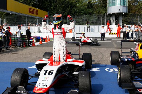 2014 GP3 Series. Round 7.   Autodromo di Monza, Monza, Italy. Sunday 7 September 2014. Dean Stoneman (GBR, Marussia Manor Racing). Photo: Zak Mauger/GP3 Series Media Service. ref: Digital Image _L0U0117
