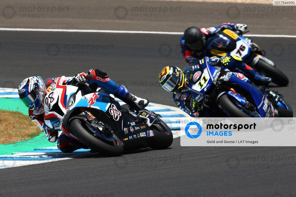 Markus Reiterberger, BMW Motorrad WorldSBK Team, Sandro Cortese, GRT Yamaha WorldSBK