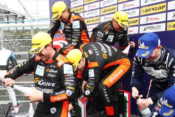 European Le Mans Series P2 Podium