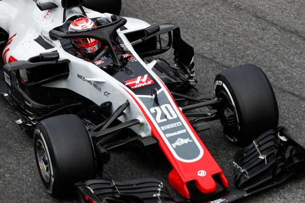 Kevin Magnussen, Haas F1 Team VF-18.