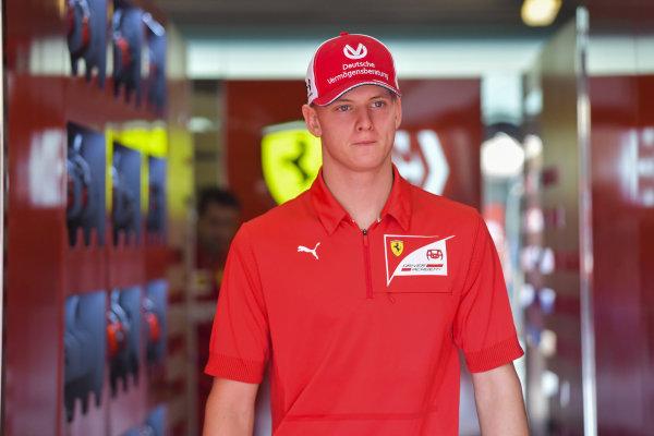 Mick Schumacher, Ferrari Academy driver