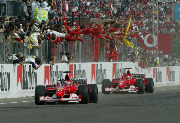 2002 Hungarian Grand Prix - Sunday Race
